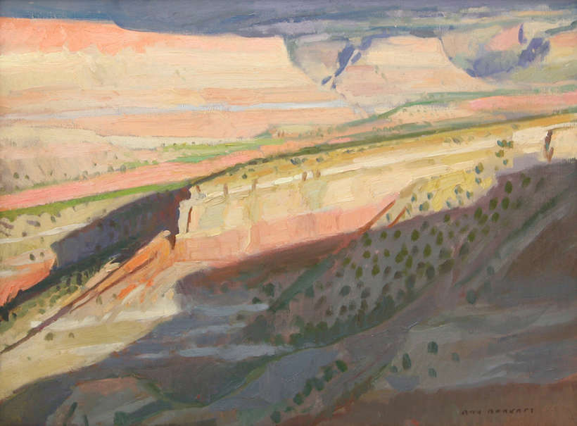 "Ray Roberts | ""Last Light on Capitol Reef"" 