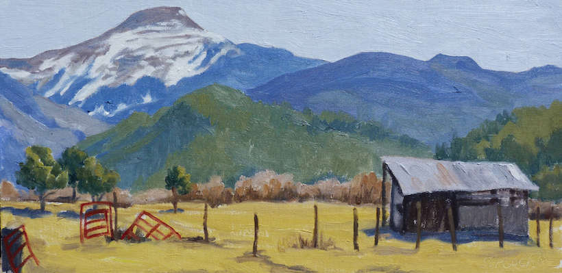 "Tatiana Koch | ""Red Gate & Jicarita Peak"" 
