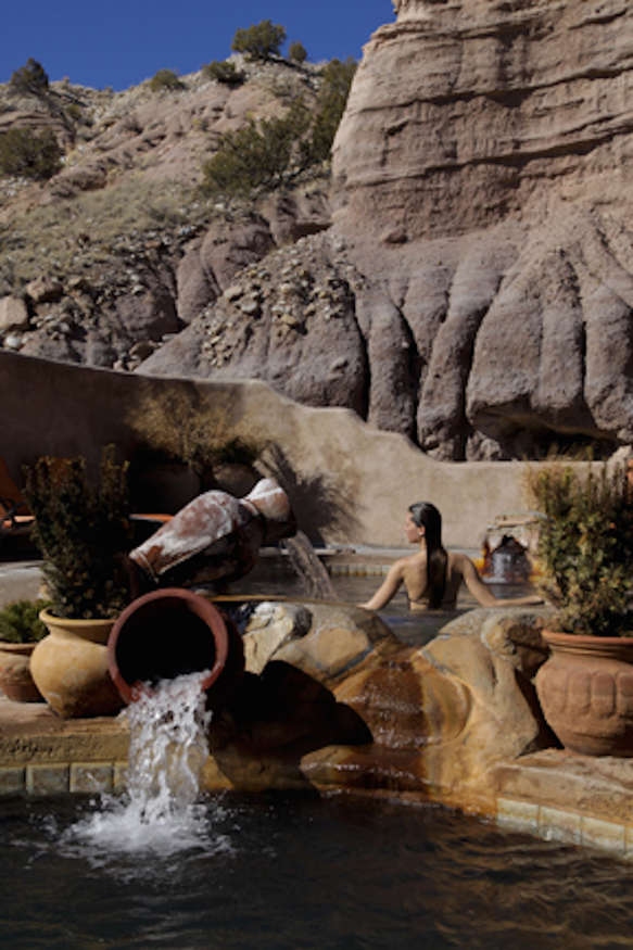 Ojo Caliente Resort Gift Certificate | $410 | One night for two in a Plaza Suite (valid Monday-Thursday, excluding Ojo holidays) plus a private pool for two | courtesy of Signe Nichols, Ojo Caliente