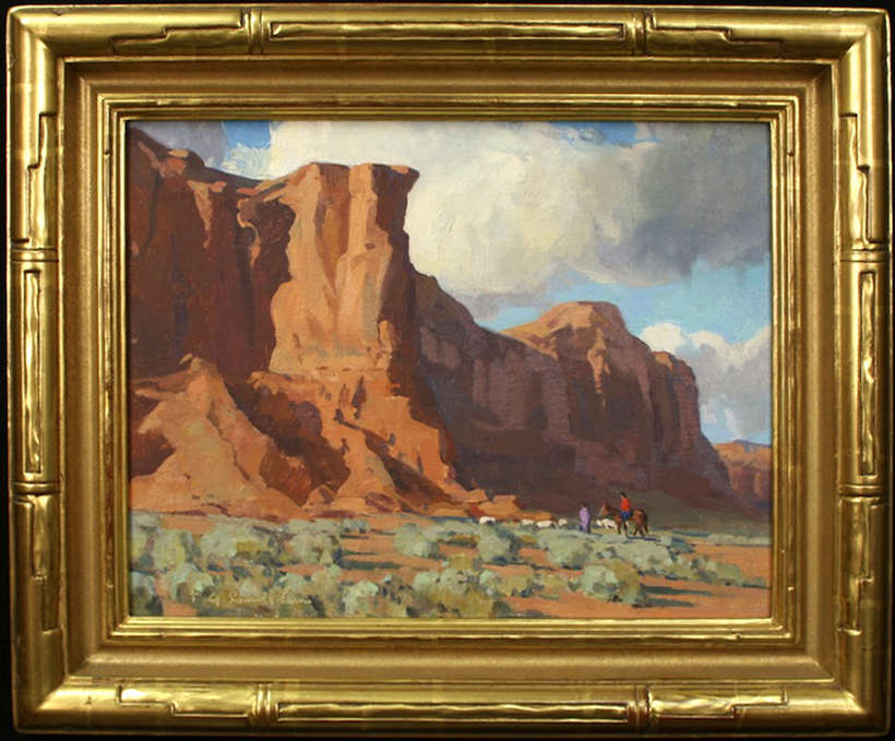 "G. Russell Case | ""Along Red Mountain"" 