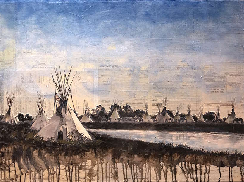 "Ben Pease | ""The Other Side of Camp"" March 2017 