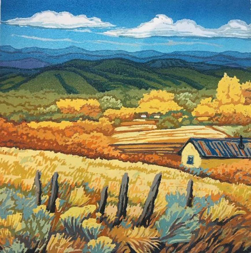 "Angie Coleman | ""Fence Posts & Fields"" 